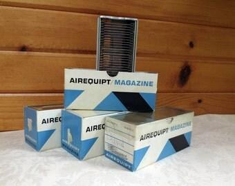 4 Airequipt Vintage Slide Changer Magazines