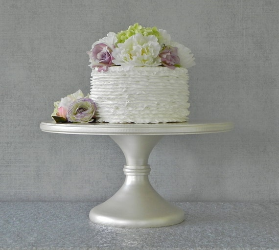 16 wedding cake stand 16 wedding cake stand cupcake pedestal ivory pearl ivory 1029