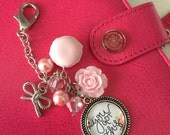 You Got This So Shabby & Chic Macaron Charm for Planners, Books Notebooks Journals, Purse or Traveler's Notebooks