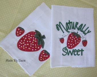 Naturally Sweet Burp Cloth Set (2 burp cloths)