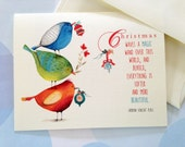 Christmas Card Set, Holiday Cards, Set of 10 cards