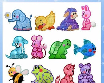 Baby Applique Collection- Machine Embroidery Designs