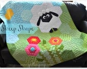 Sheep Shape quilt pattern (p.25-27) Quiltmaker Magazine May/June 2014