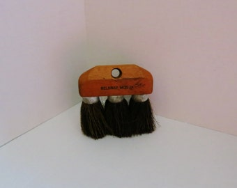 Vintage 3 Brush Broom Head Roofing Applicator Seriously Spiked Hair