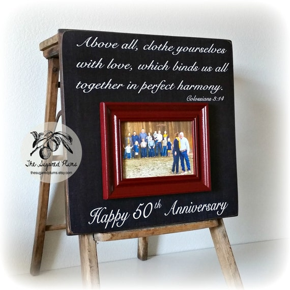 Traditional Wedding Gifts From Parents: Items Similar To 50th Anniversary Gifts, Parents