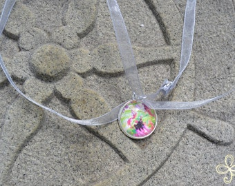 Nana (September) Moon Pendant Necklace