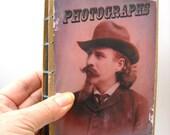 Hardcover Victorian Cowboy Photo Album, 4 x 6  Coptic Stitch Photo Album