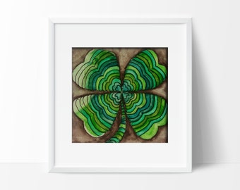 """Shamrock Four Leaf Clover 
