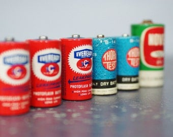 Vintage Photography Batteries