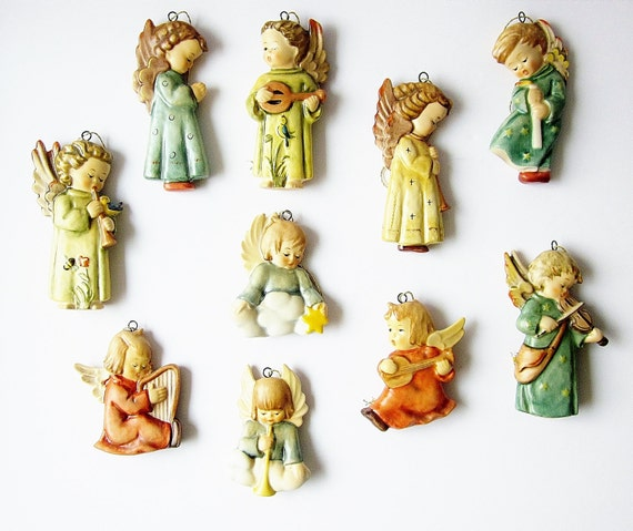 Hummel Christmas Ornament Collection Angels Of By Jarmfarm