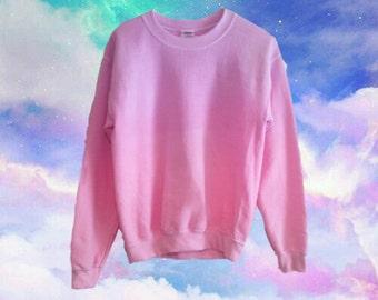 Custom Color Ombre/Dip-Dye Sweatshirt