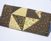 Autumn Pinwheel Patchwork Quilted Table Runner- Autumn Table Decor- Quilted Table Topper