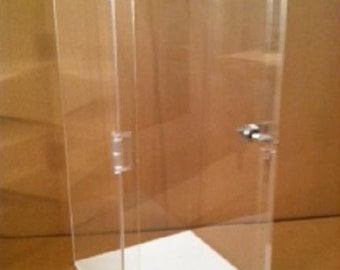 Acrylic DOLL Display Case with Locking Door