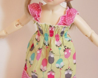 LTF/LittleFee/Yo-SD Mousey Sundress with Ruffled Sleeves