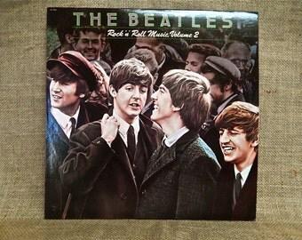 THE BEATLES - Rock 'n' Roll Music, Volume 2 - 1980  Vintage Vinyl Record Album
