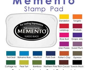 Memento Dye Ink Stamp Pads
