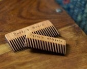 Daddy's Whiskers Comb - Beard or Mustache Comb