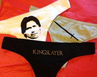 Jaime Lannister Triple Panty Set