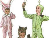 VTG McCall's Costume Pattern 6991: Cat, Bunny, & Spaceman SZ 12