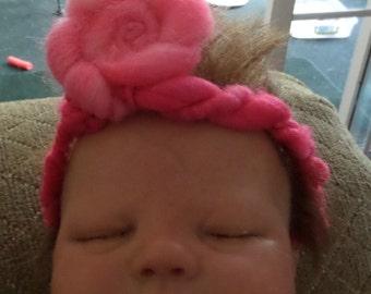 Pink Baby Headband, Headband for Babies