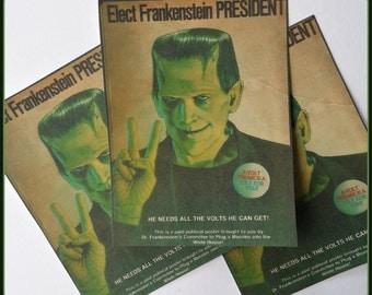 Frankenstein for President - Stickers