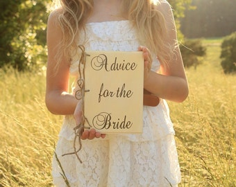 Rustic Chic Advice For The Bride Book Barn Wedding Advice Book Wood Cover Book Distressed Chic Wedding Planner Book Advice For The Couple