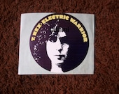 T Rex Promotion Advertising Sticker 1970's Art Psychedelic Rock w original Peel Off Backing