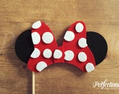 Mrs. Mouse Ears Photo-Booth Prop | Mouse Party Props