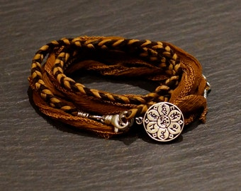 My Path/warrior wrap/bracelet/necklace
