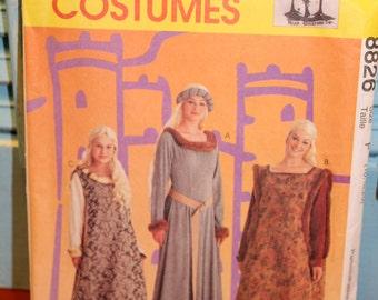 McCalls Costume Pattern 8826