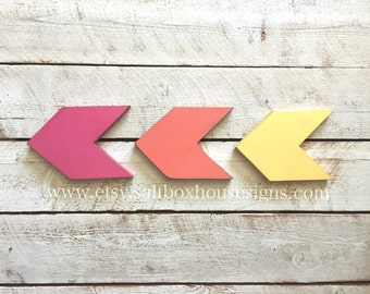 Set of 3 Chevron Arrows