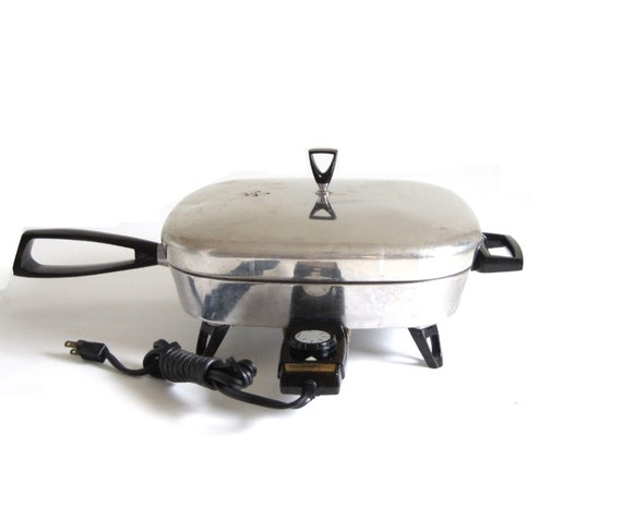 Westinghouse Electric Skillet F 18 Automatic Fry Pan Vintage
