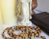 Our Lady of Perpetual Help Catholic Rosary Sandlewood Rosary