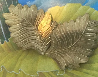 Styled Frond Leaf  (2 pc)