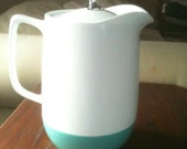 Vintage Vacron Insulated Pitcher Aqua