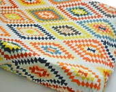 Changing Pad Cover Serape Fervor - Kilim Changing Pad Cover- Aztec Changing Pad- Aztec Baby Bedding- Changing Pad Cover- Change Pad- Baby
