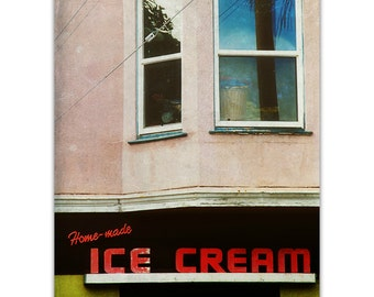 photography, san francisco photography, san francisco mission print - Bi Rite Creamery, photograph print