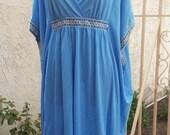 Hippie Light Blue Dress