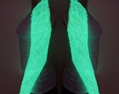 Glow in the dark dragon scale shrug - scale mail armor