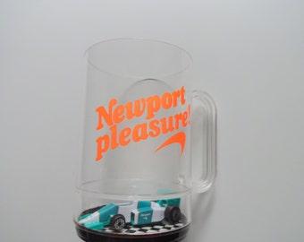 Vintage Newport Plastic Mug 1980s