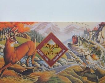Vintage Woods & Water Adventure Board Game 1995