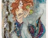 Mermaid Collage - Original