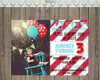 Carnival Invite Circus Invite Circus Invitation Carnival Invitation Carnival Birthday Party Circus Birthday Party Invitation Kids Invite