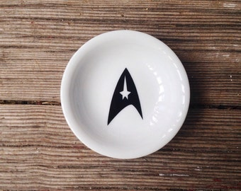 Ring Dish   Star Trek   Geek Wedding   Engagement Gift   Jewelry Dish