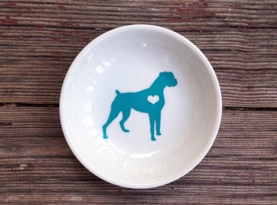 Boxer | Ring Dish | Boxer Dog | Engagement Gift | Ring Holder
