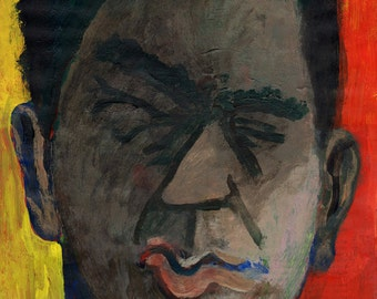 Original Painting - 'Unpleasant Expression' by Peter Mack