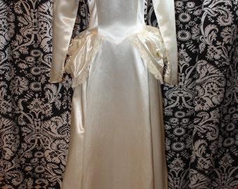 1940's Wedding Gown  Item #187-WG