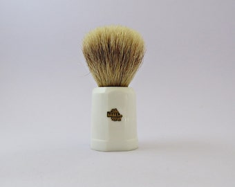 Vintage Shaving Brush - TS36 Real Badger Shaving Brush - British Made - Shaving Brush