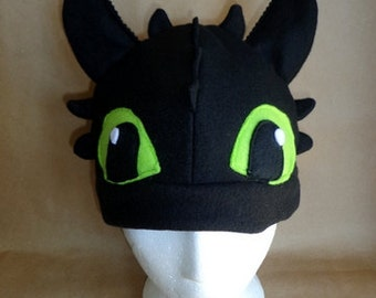Toothless the Dragon Hat | How to Train Your Dragon inspired Costume | Adult Toddler Baby Child