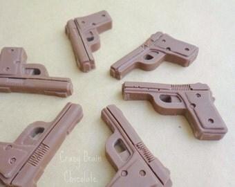 Small Chocolate Guns (6)